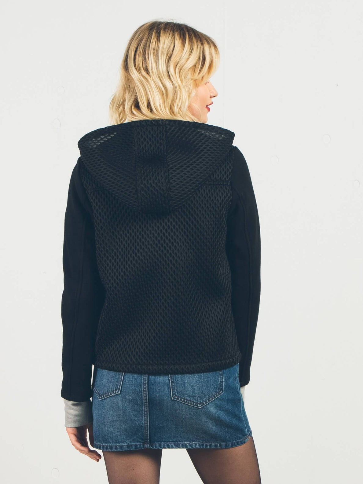 Hey Meshter Fleece - Black