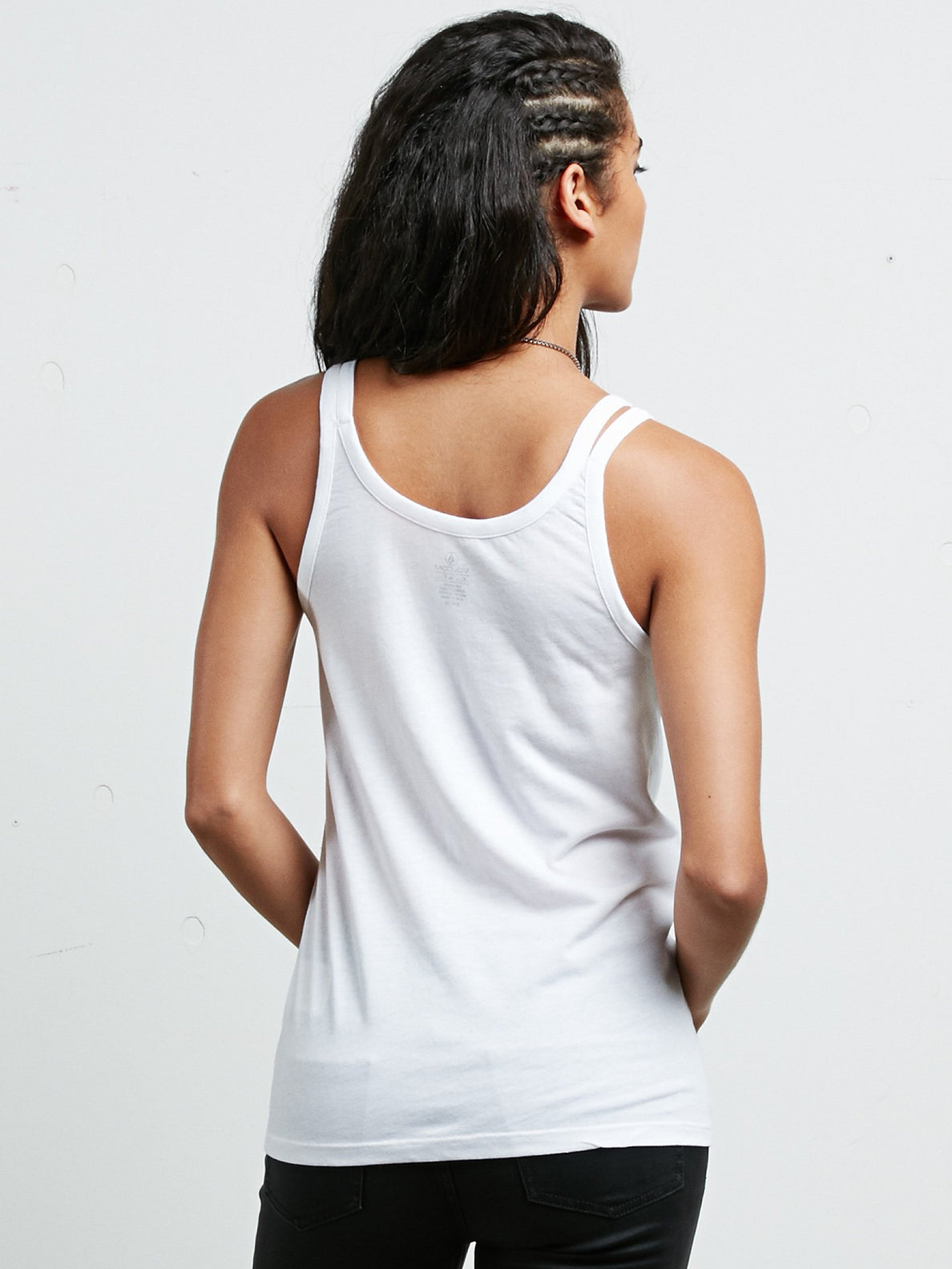 Above All Split Tank - White