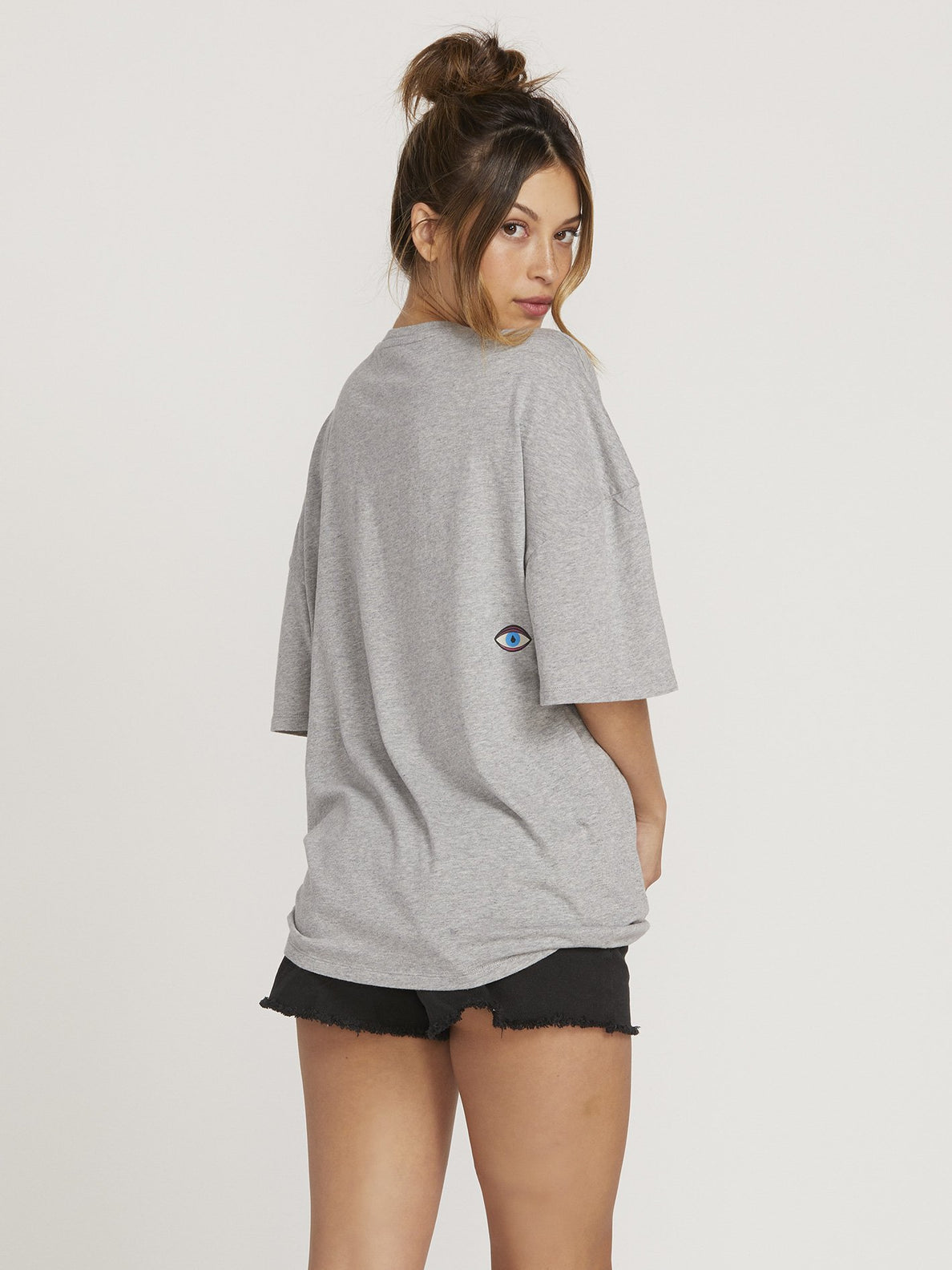 Stone Splif T-shirt  - Heather Grey