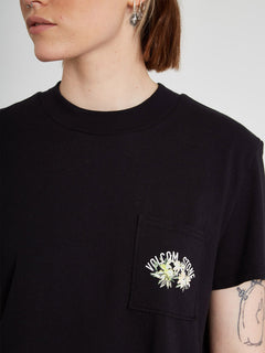 Pocket Dial T-shirt - Black (B3512103_BLK) [2]