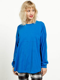 GMJ LONG SLEEVE BRIGHT BLUE