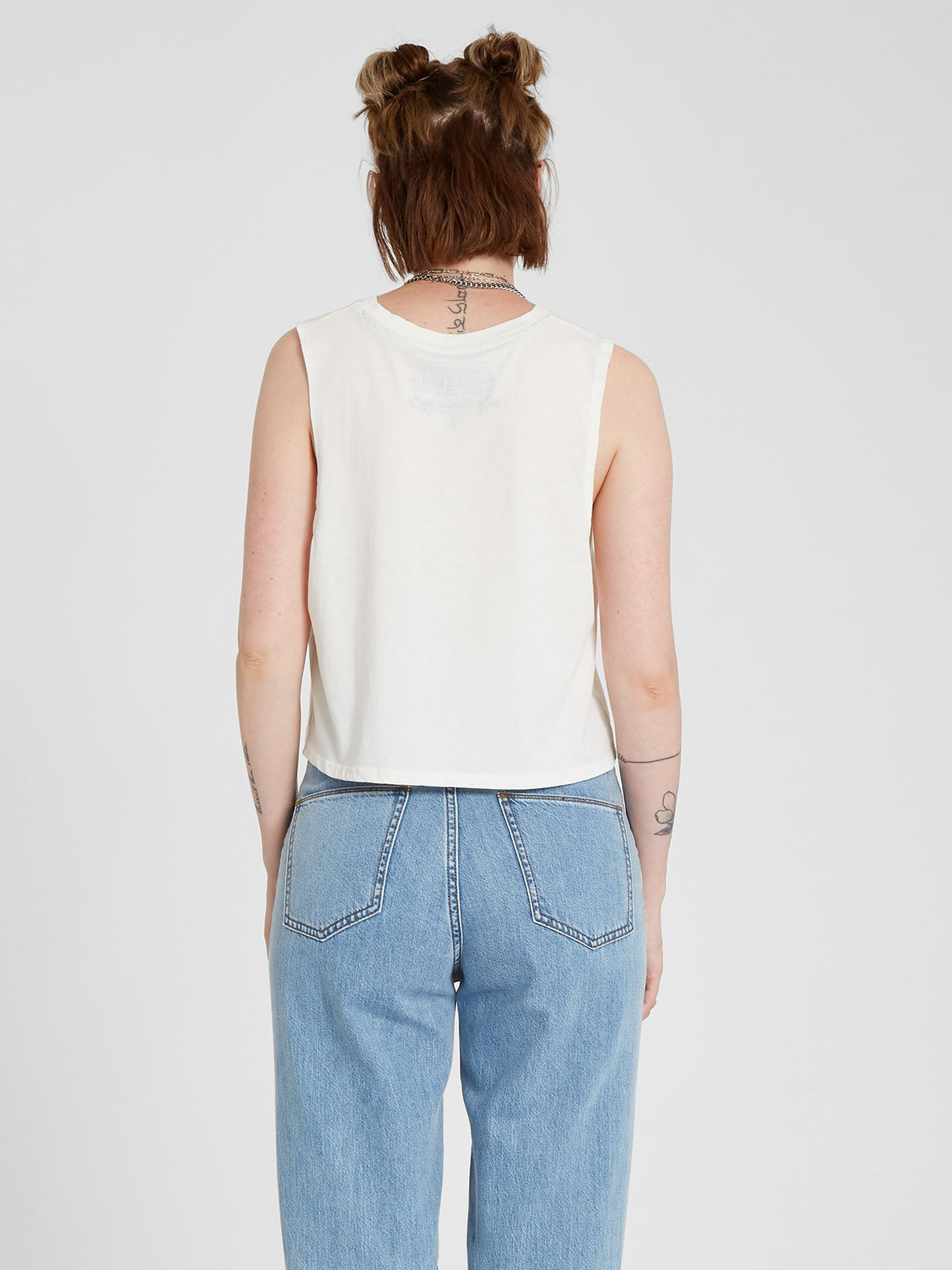 Stone Hour Crop Tank - Star White (B4512102_SWH) [B]