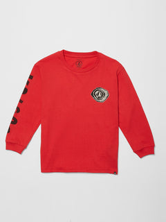Sick 180 T-shirt - Carmine Red (C3612101_CMR) [F]