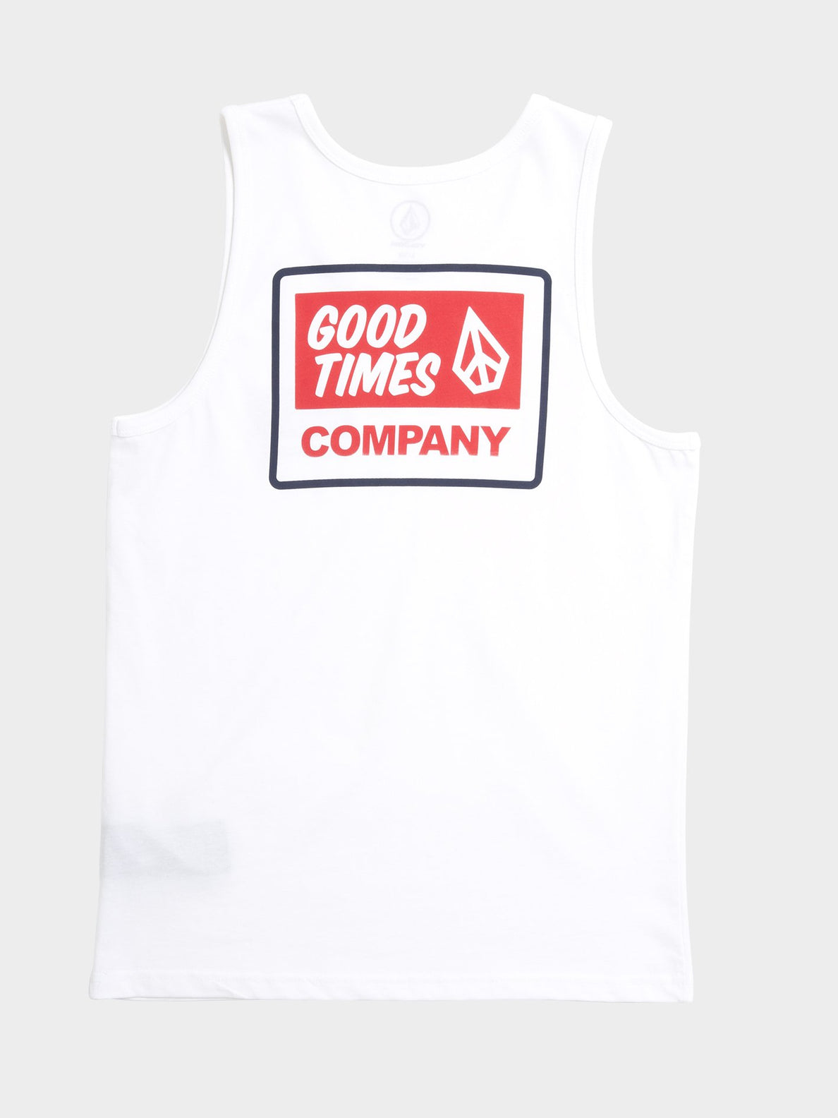 Volcom Is Good Tank (Kids) - White