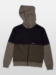 Single Stone Div Zip Hoodie - Military (C4831902_MIL) [F]