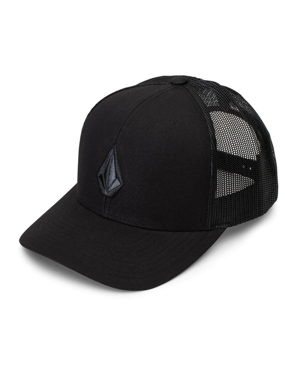 Full Stone Cheese Hat - Asphalt Black