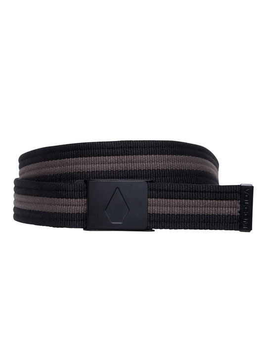 Strap Web Belt  - Black