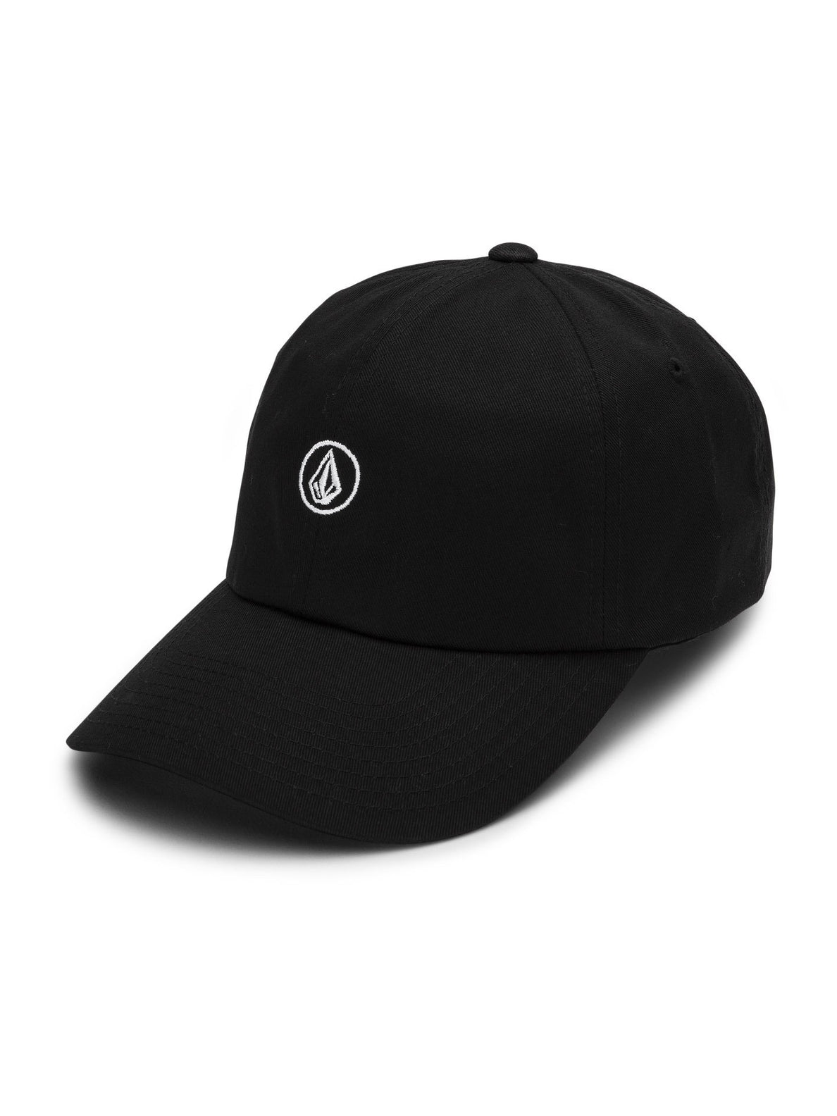 CIRCLE STONE DAD HAT (E5521904_BLK) [F]