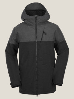 Ghost Stripe Insulated Jacket - Black