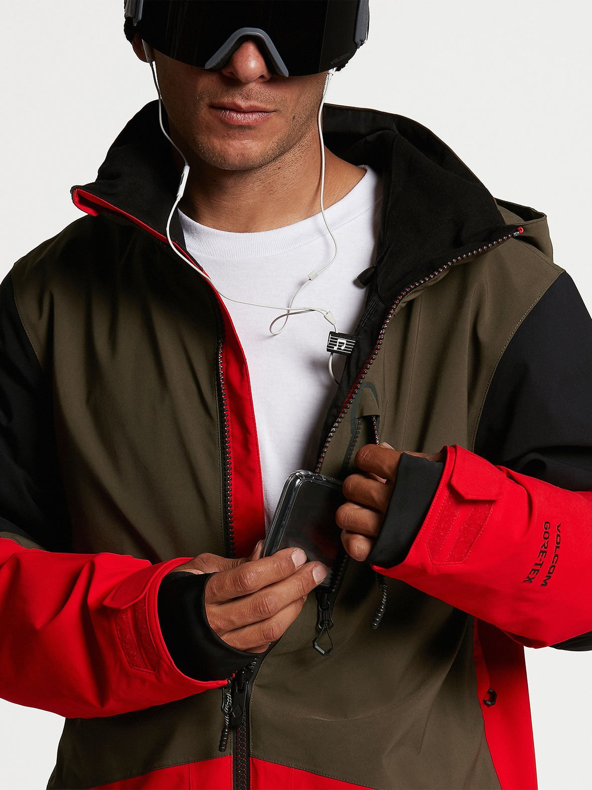 BL STRETCH GORE JACKET (G0652102_RED) [07]
