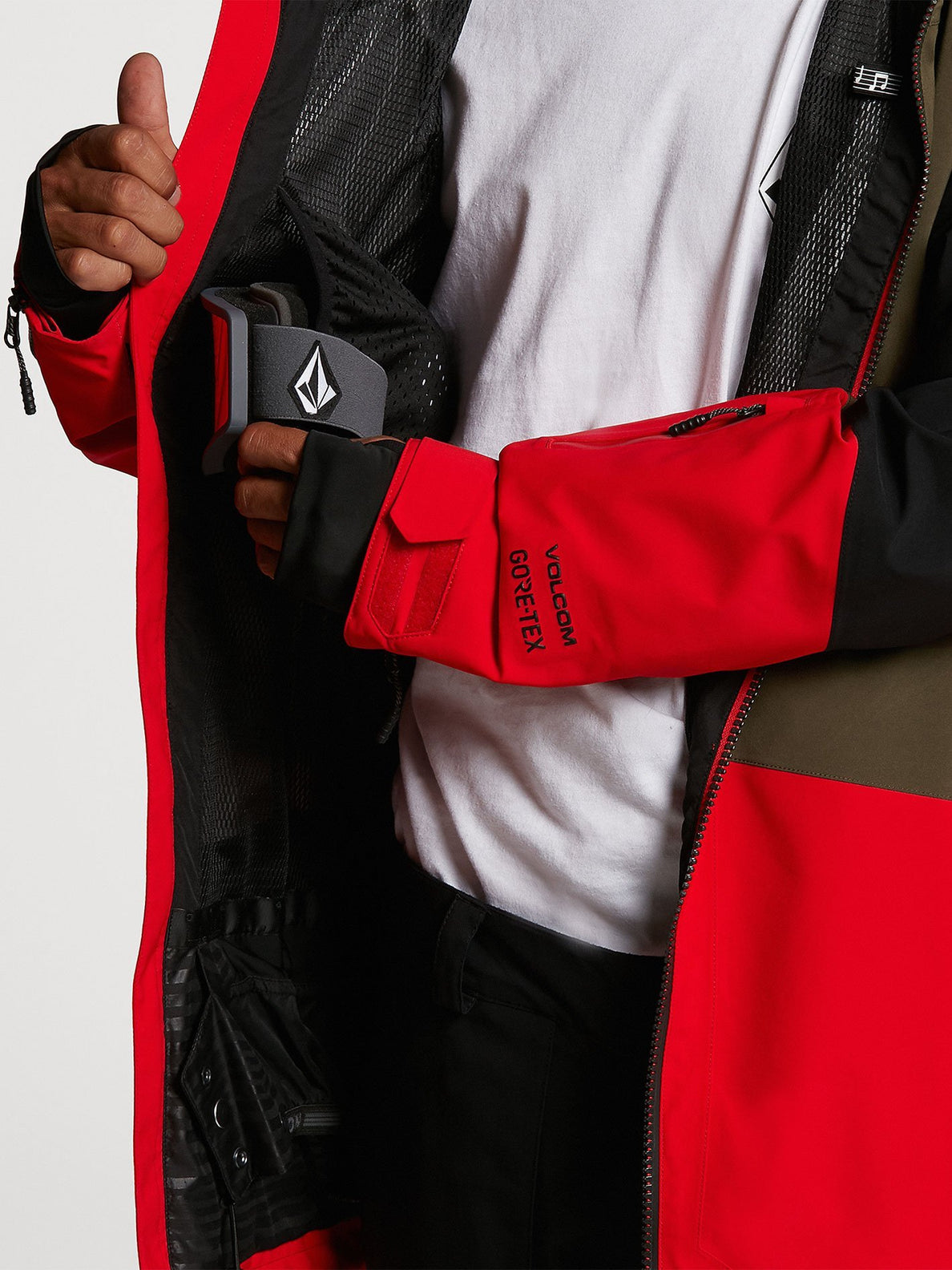 BL STRETCH GORE JACKET (G0652102_RED) [09]