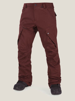 Articulated Pants - Burnt Red