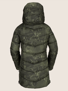 Structure Down Jacket - Camouflage