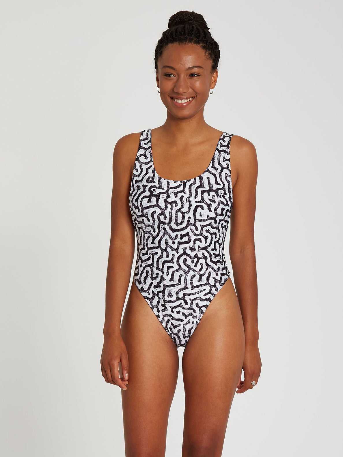 Coral Morph 1 piece Swimsuit - Multi (O3012104_MLT) [2]