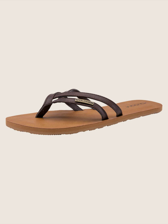 Crosstown Sandals - Brown