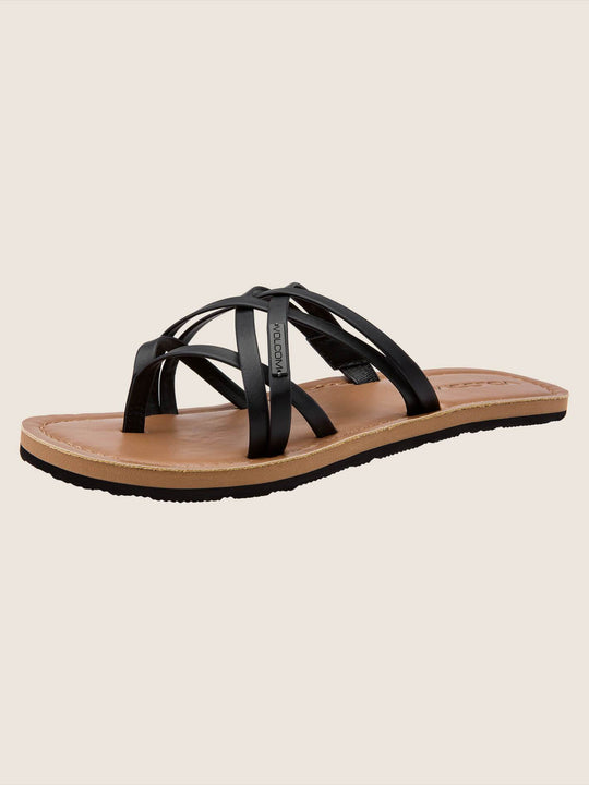 Strap Happy Sandals - Black