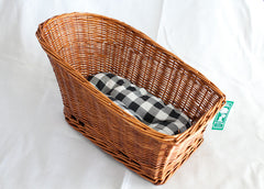 Back-Rack Bicycle Basket
