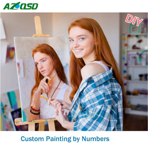 Custom Paint by Number Kit from your Photo