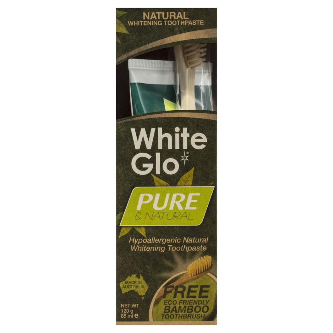 Pure & Natural Whitening Toothpaste | 100% Vegan