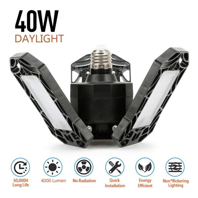 LED Garage Light 360 Degrees