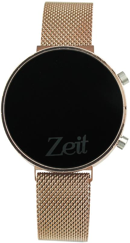 Reloj Zeit Unixes Metal Digital Oro Rosa CB00017595