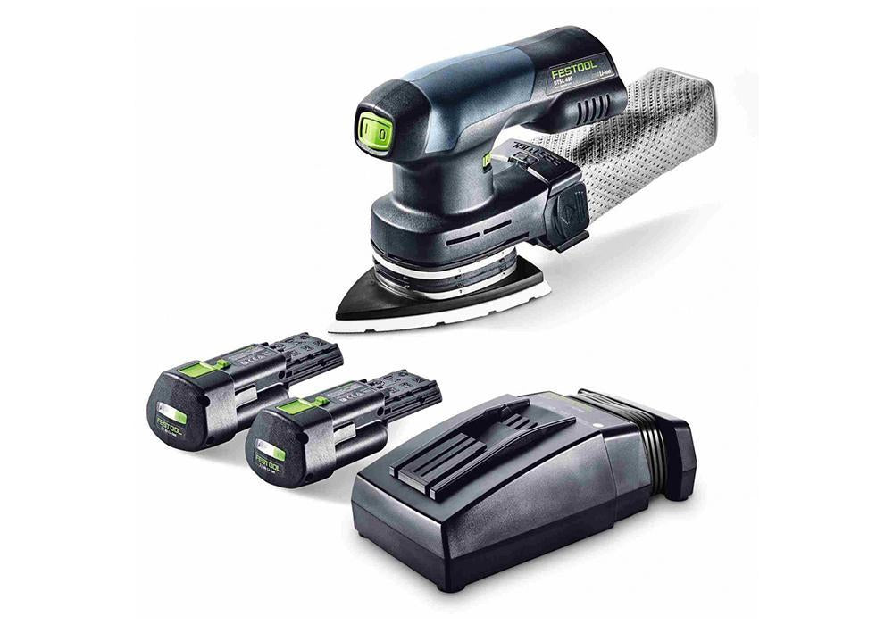 Festool DTSC Brushless Hybrid sander, available at Clement's Paint in Austin, TX.