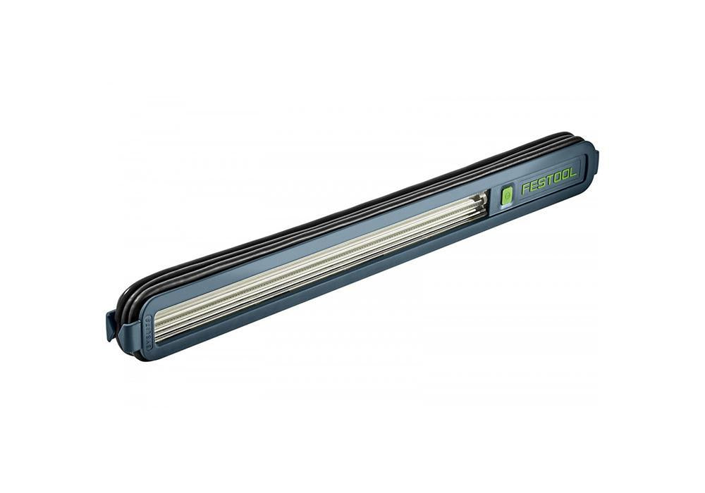 Festool Syslite surface inspection light, available at Clement's Paint in Austin, TX.