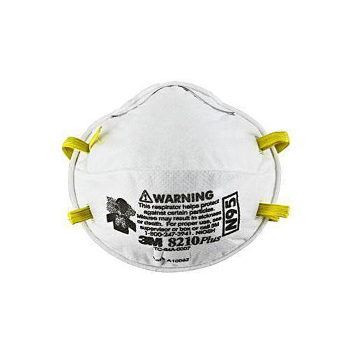 3M N95 Disposable Particulate Respirator Mask, available at Clement's Paint in Austin, TX.