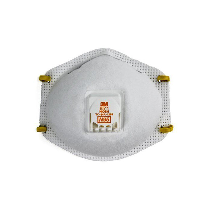 3M 8511 Respirator Mask, available at Clement's Paint in Austin, TX.