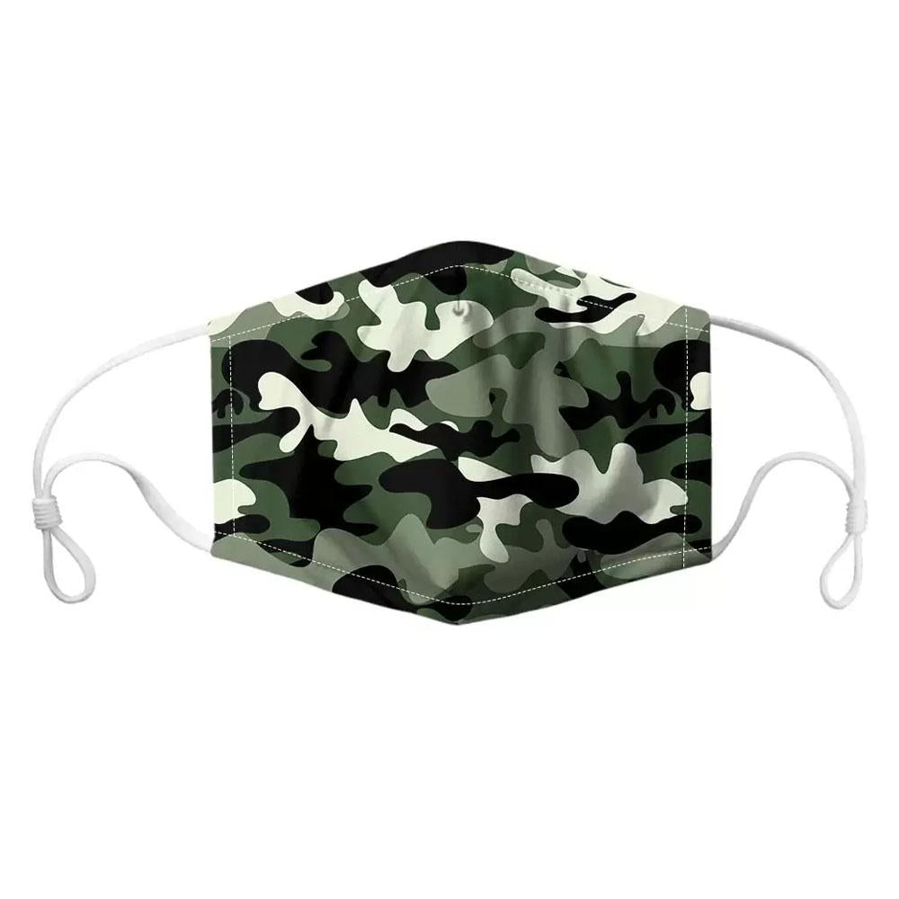 Ace Fabric Mask Army Camo