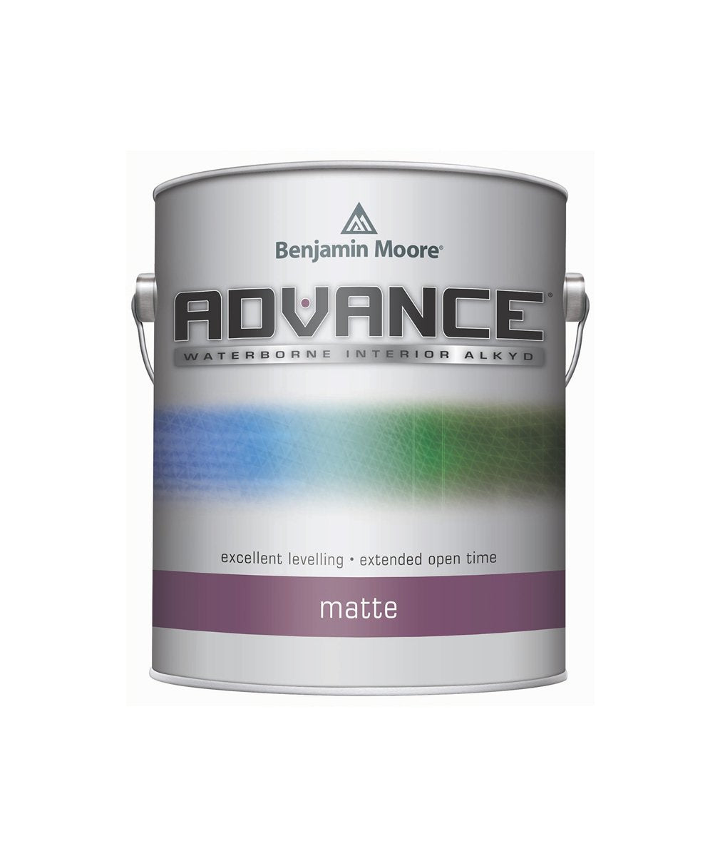 Benjamin Moore Advance Matte Paint available at Clement's Paint.