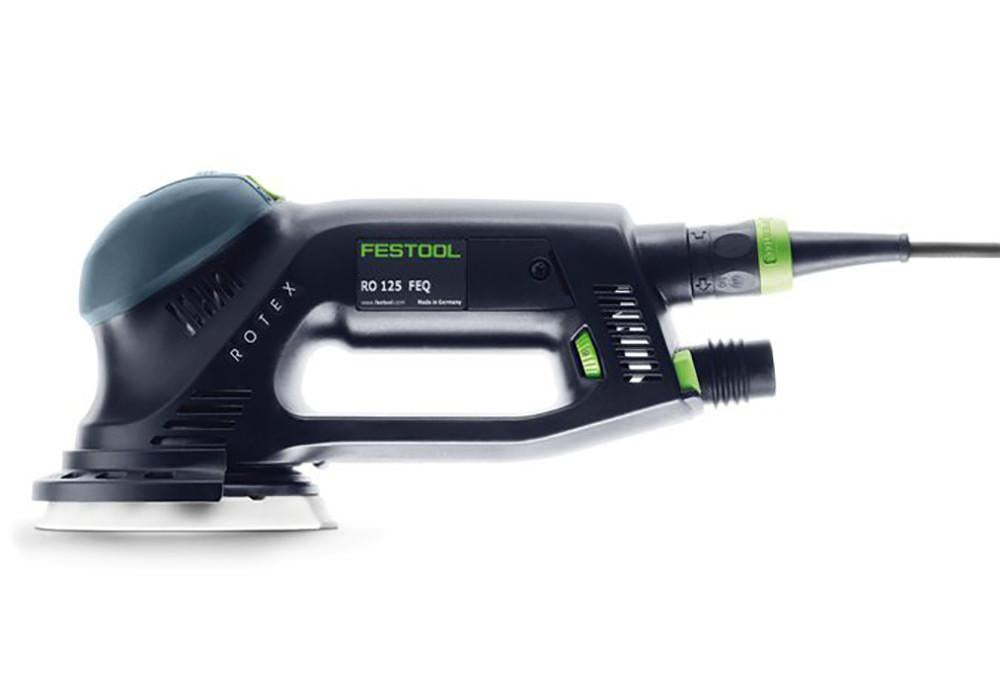 Festool Rotex RO 125 FEQ multi-mode sander, available at Clement's Paint.