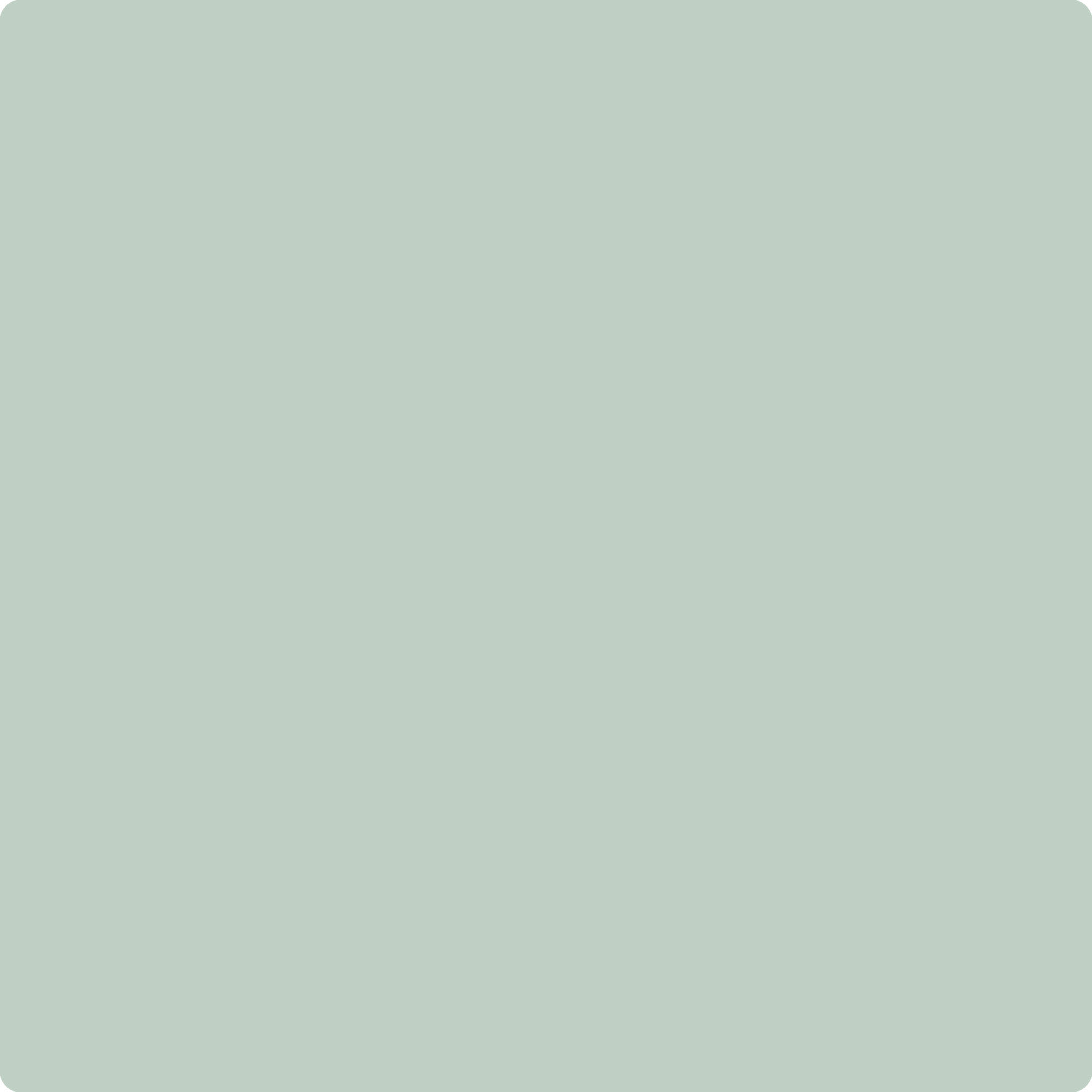 GE-140 Mint Chip by Benjamin Moore