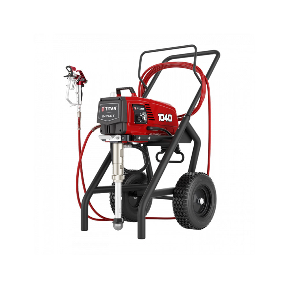Titan Impact 1040 High Rider paint sprayer, available at Clement's Paint in Austin, TX.