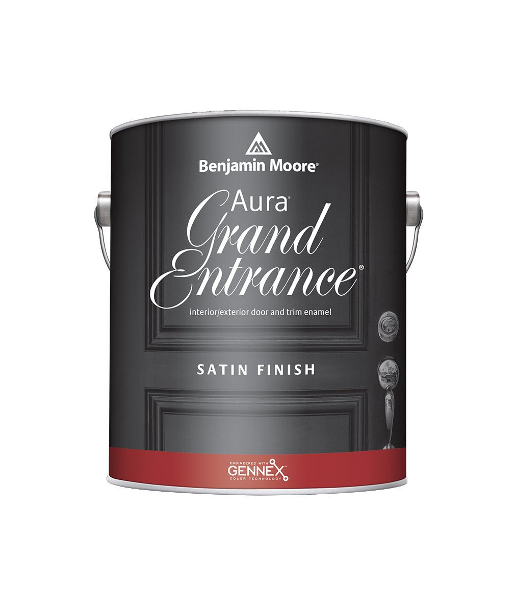 Benjamin Moore Aura Grand Entrance Satin available at Clement's Paint.