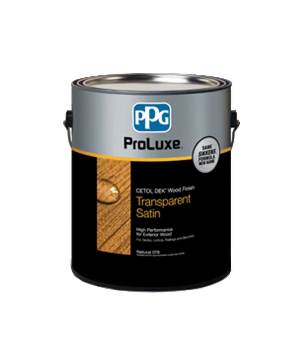 Proluxe dek wood finish available at Clement's Paint in Austin, TX.