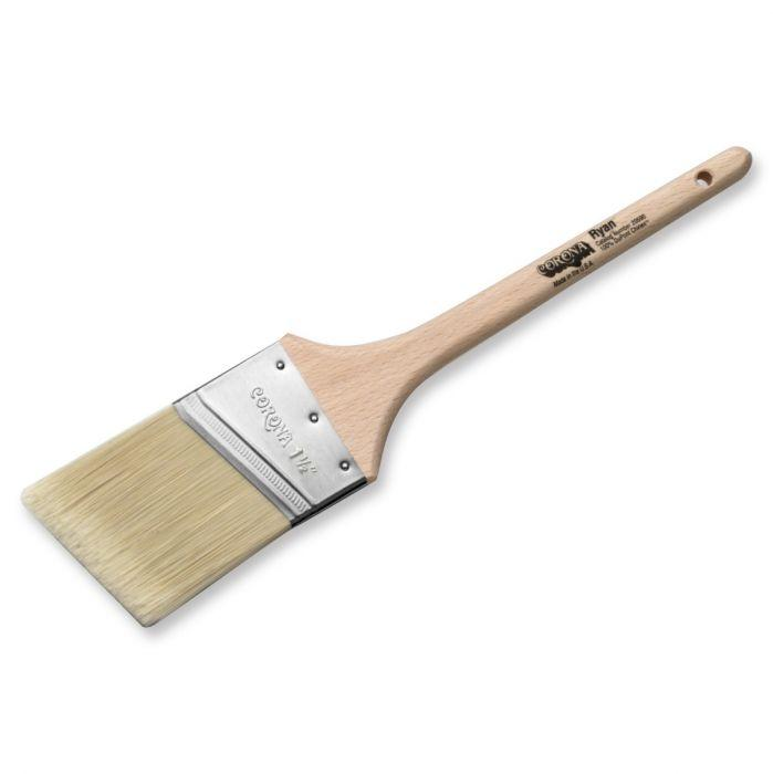 "Corona Ryan 1.5"" paint brush, available at Clement's Paint in Austin, TX."