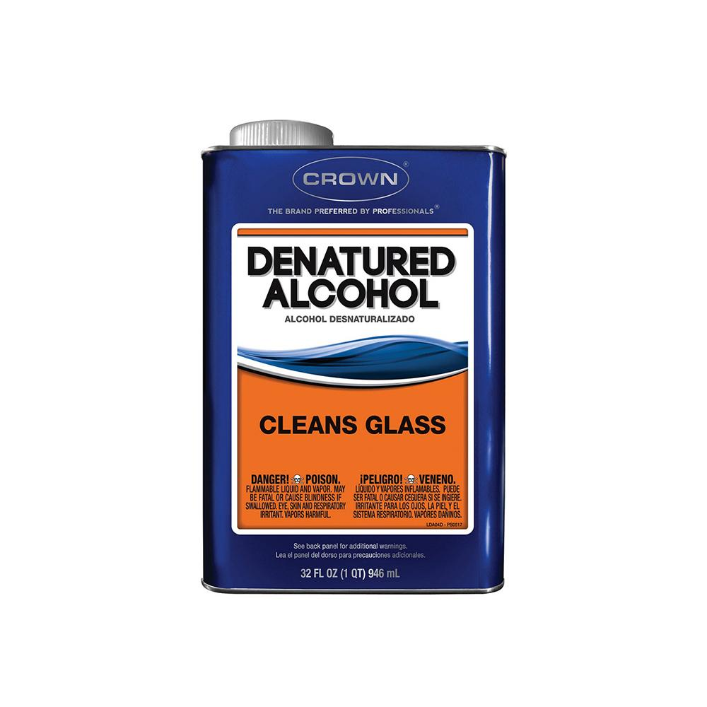 Crown Denatured Alcohol, Available at Clement's Paint in Austin, Tx.