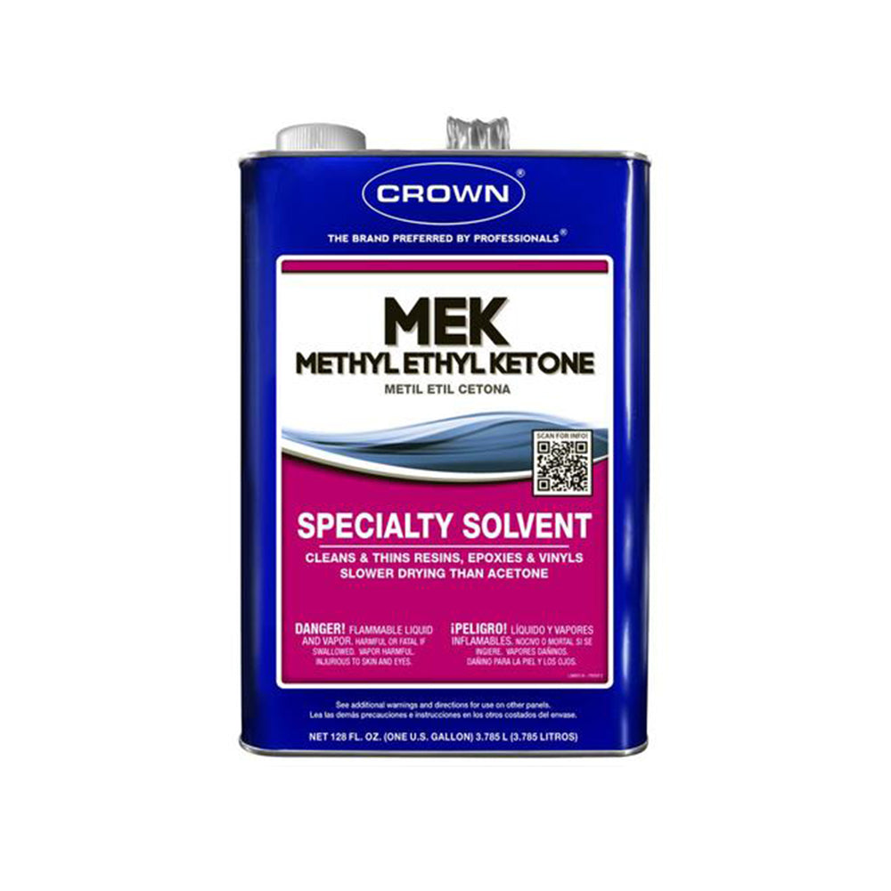 Crown Methyl Ethel Ketone (MEK), available at Clement's Paint in Austin, TX.