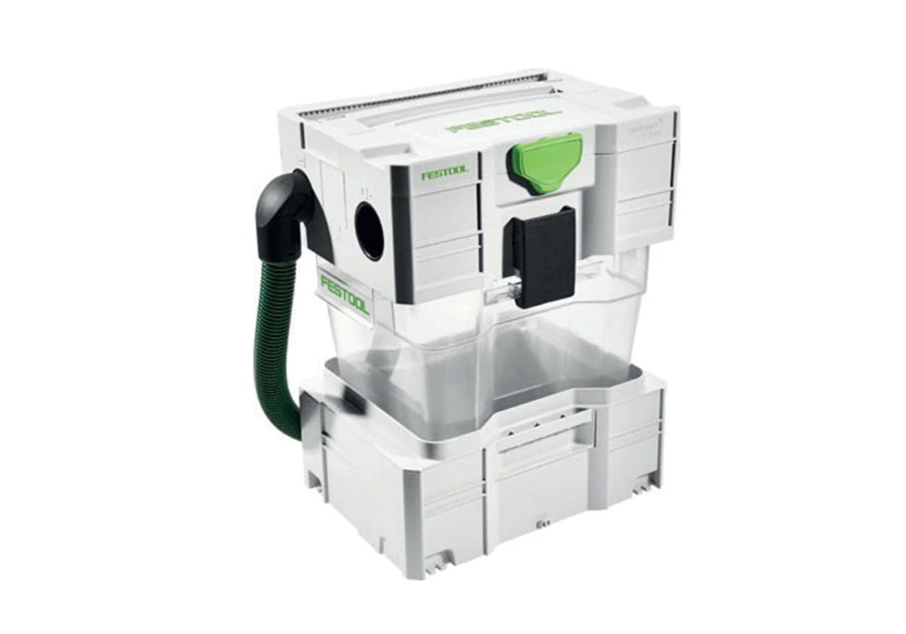 Festool Cyclone Dust Collector, available at Clement's Paint in Austin, TX.