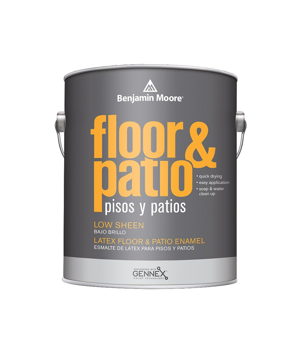 Benjamin Moore floor and patio low sheen Interior Paint available at Clement's Paint.