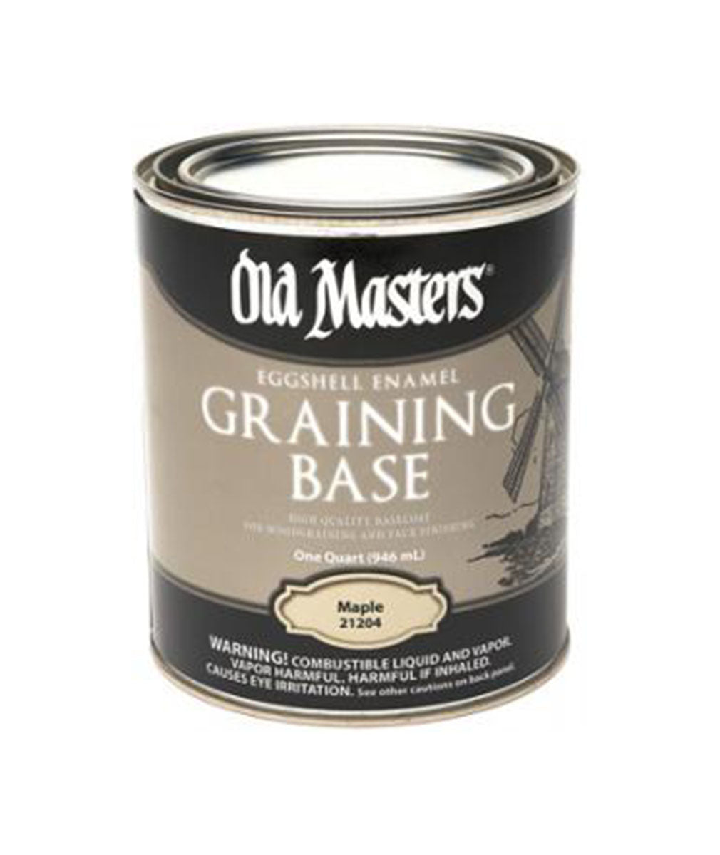 Old Masters Graining Base, available at Clement's Paint in Austin, TX.