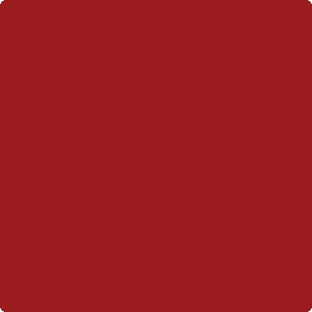 HC-181: Heritage Red  a paint color by Benjamin Moore avaiable at Clement's Paint in Austin, TX.