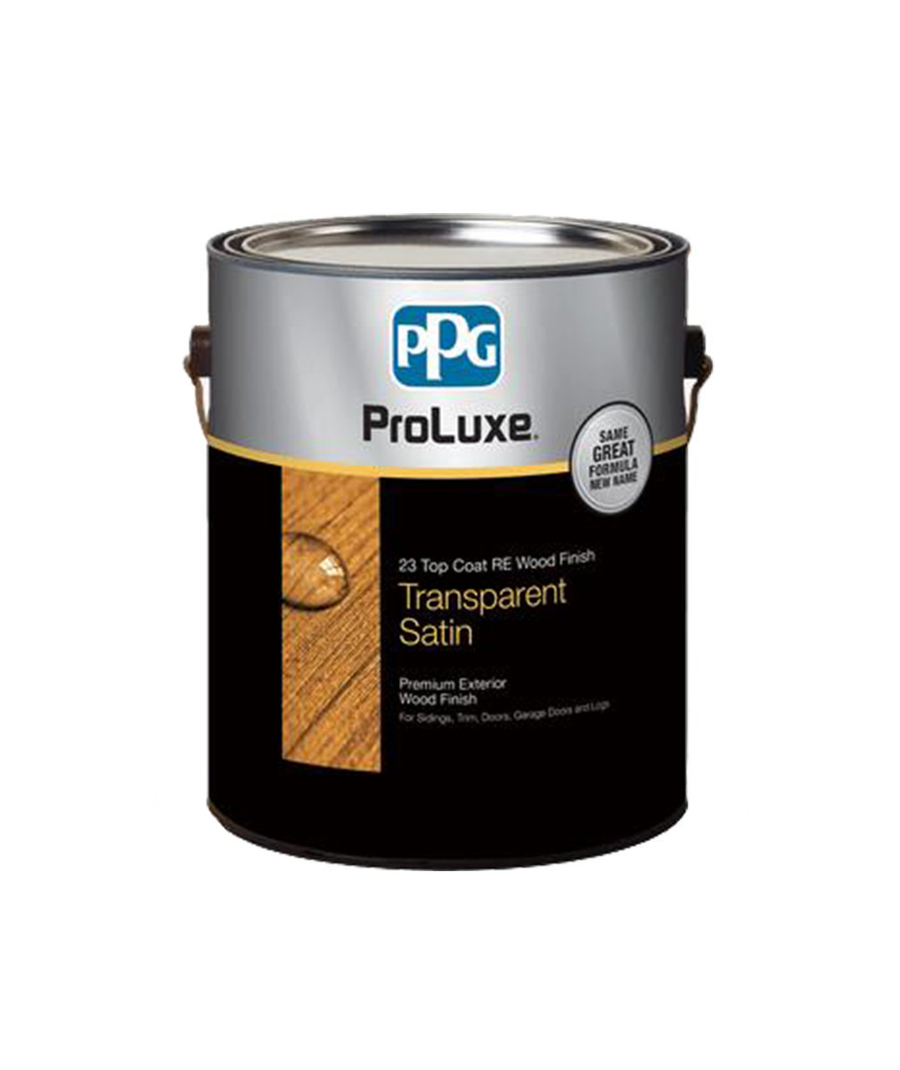Proluxe Cetol 23 Plus RE Wood Finish Top Coat, available at Clement's Paint in Austin, TX.