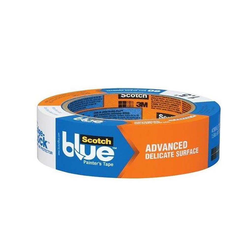 3M ScotchBlue painter's tape, available at Clement's Paint in Austin, TX.