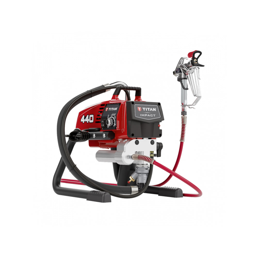Titan Impact 440 Airless Sprayer, available at Clement's Paint in Austin, TX.