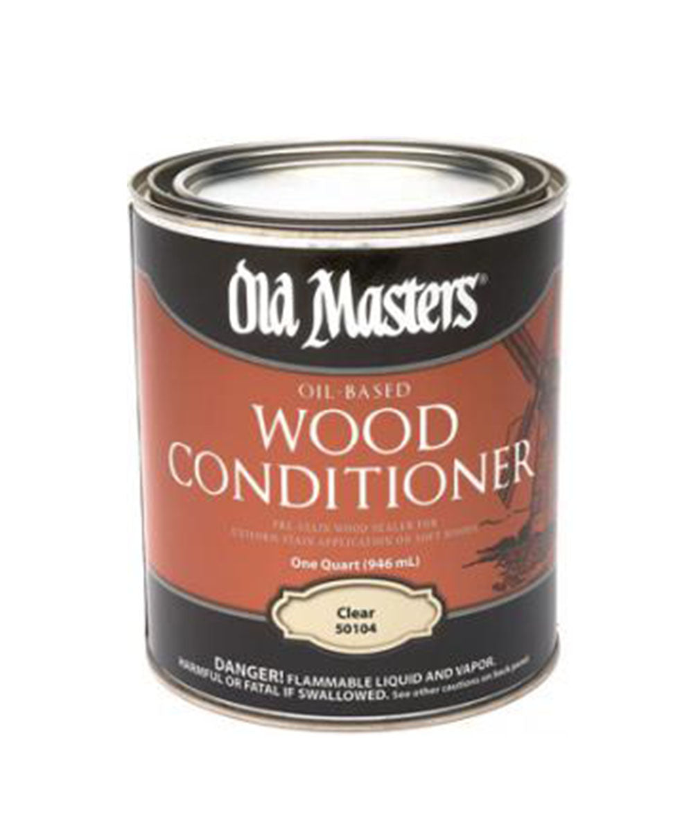 Old Masters Wood Conditioner, available at Clement's Paint in Austin, TX.