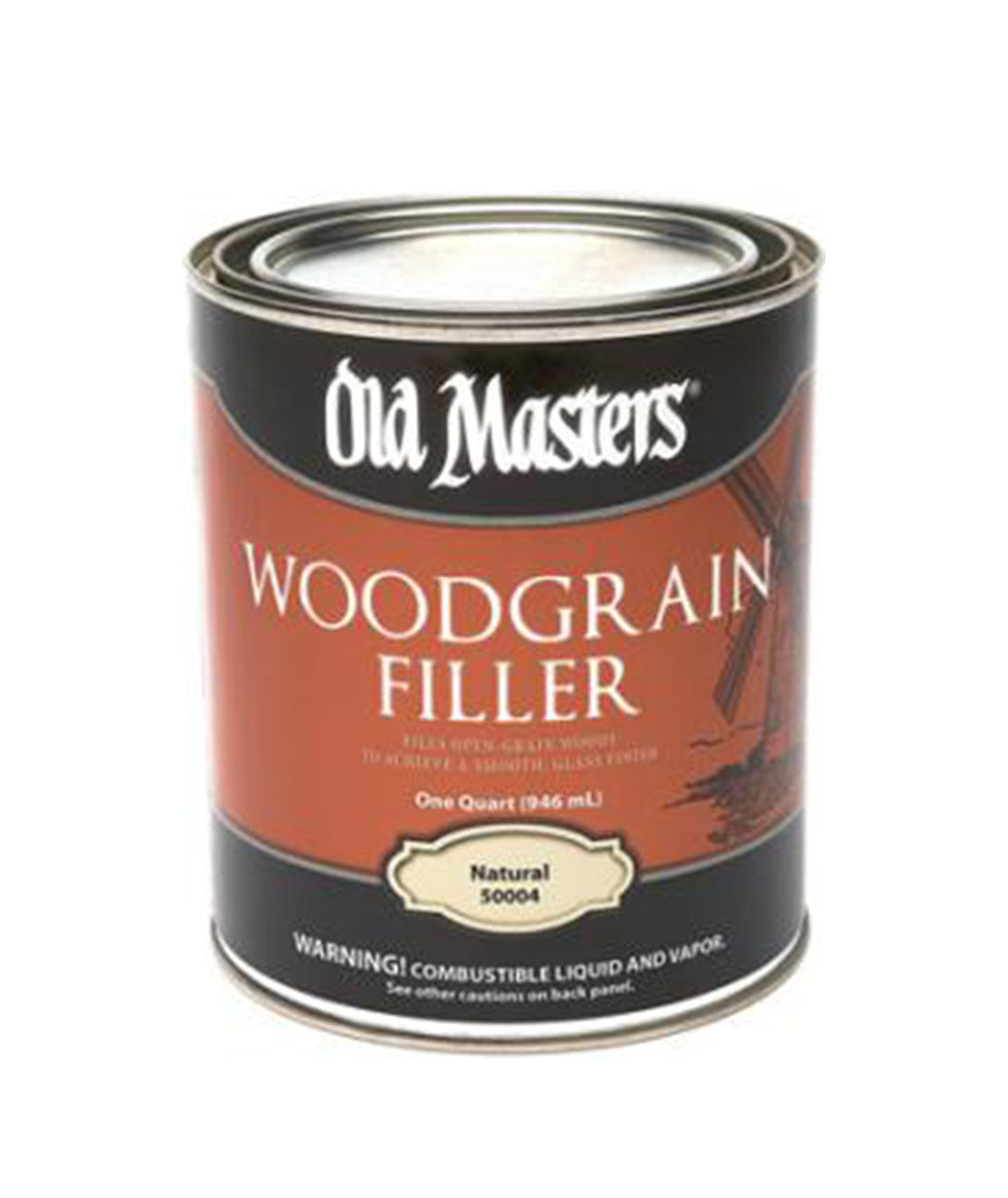 Old Masters Woodgrain Filler, available at Clement's Paint in Austin, TX.