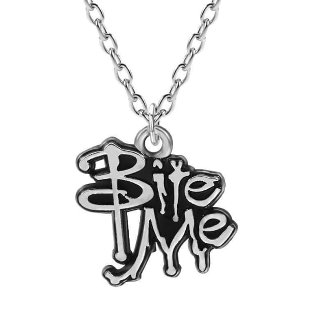 REBELLIOUS BITE ME NECKLACE