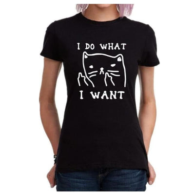 Cute Harajuku I Do What I Want T-Shirt